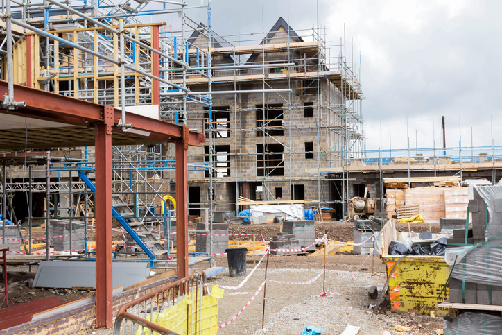 New build construction at highest level since 2007