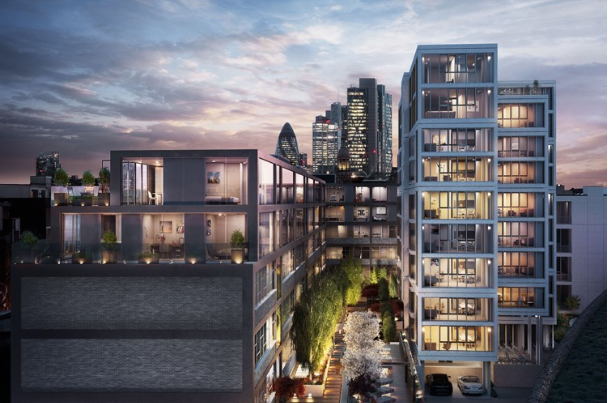 119-apartment scheme launches in Shoreditch