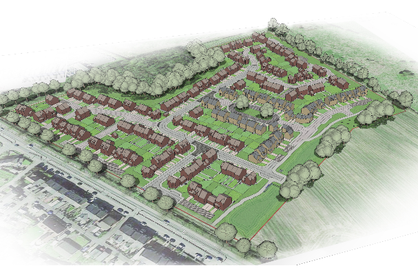 Work begins on £27m development in County Durham