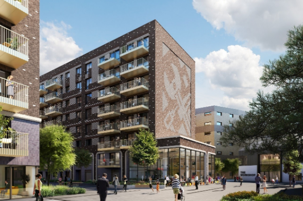 Henderson Park and Greystar acquire east London BTR development