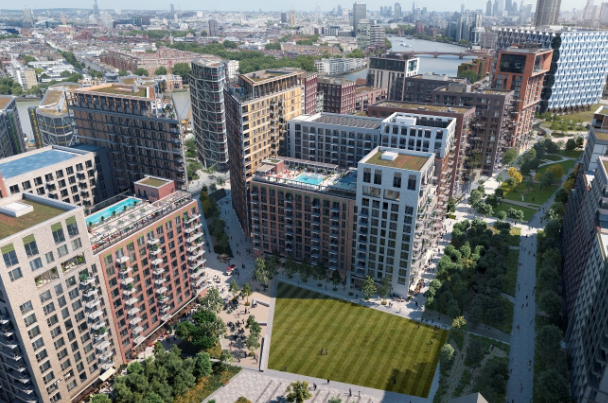 Henderson Park and Greystar to transform former Royal Mail depot into 894-bed BTR scheme