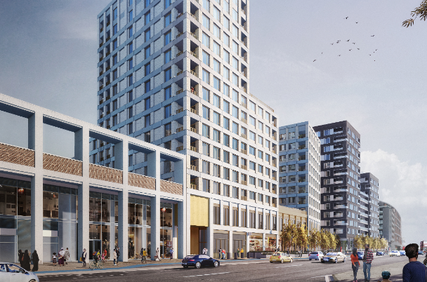 Grainger to forward fund 132-home Canning Town development