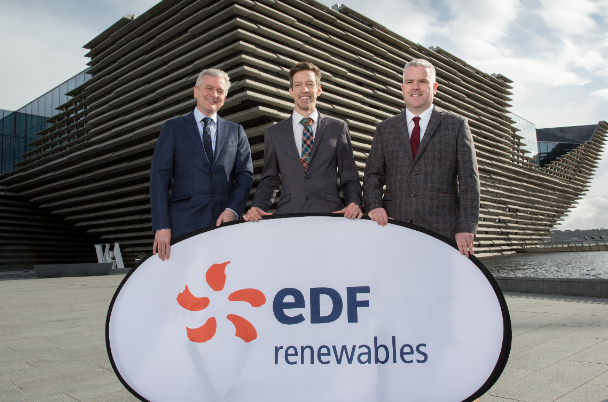 Offshore wind farm project gets underway as finance is secured