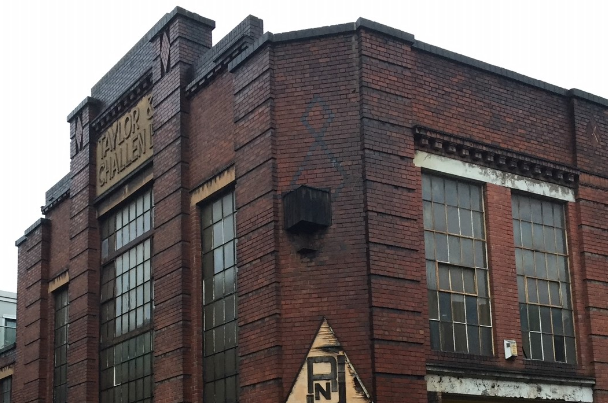 Taylor and Challen building, a former metal pressing factory at Derwent House