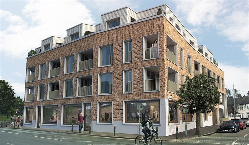 Featherstone Homes development in Streatham