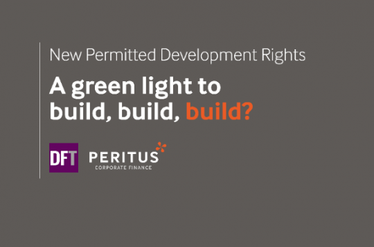Webinar: New permitted development rights - a green light to build, build, build? Pt 1